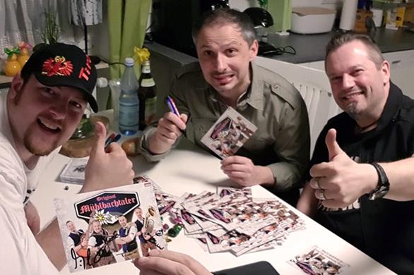 Veröffentlichung unserer CD