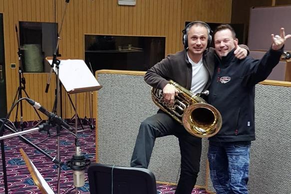 CD-Aufnahme im Tyrolis Musikstudio